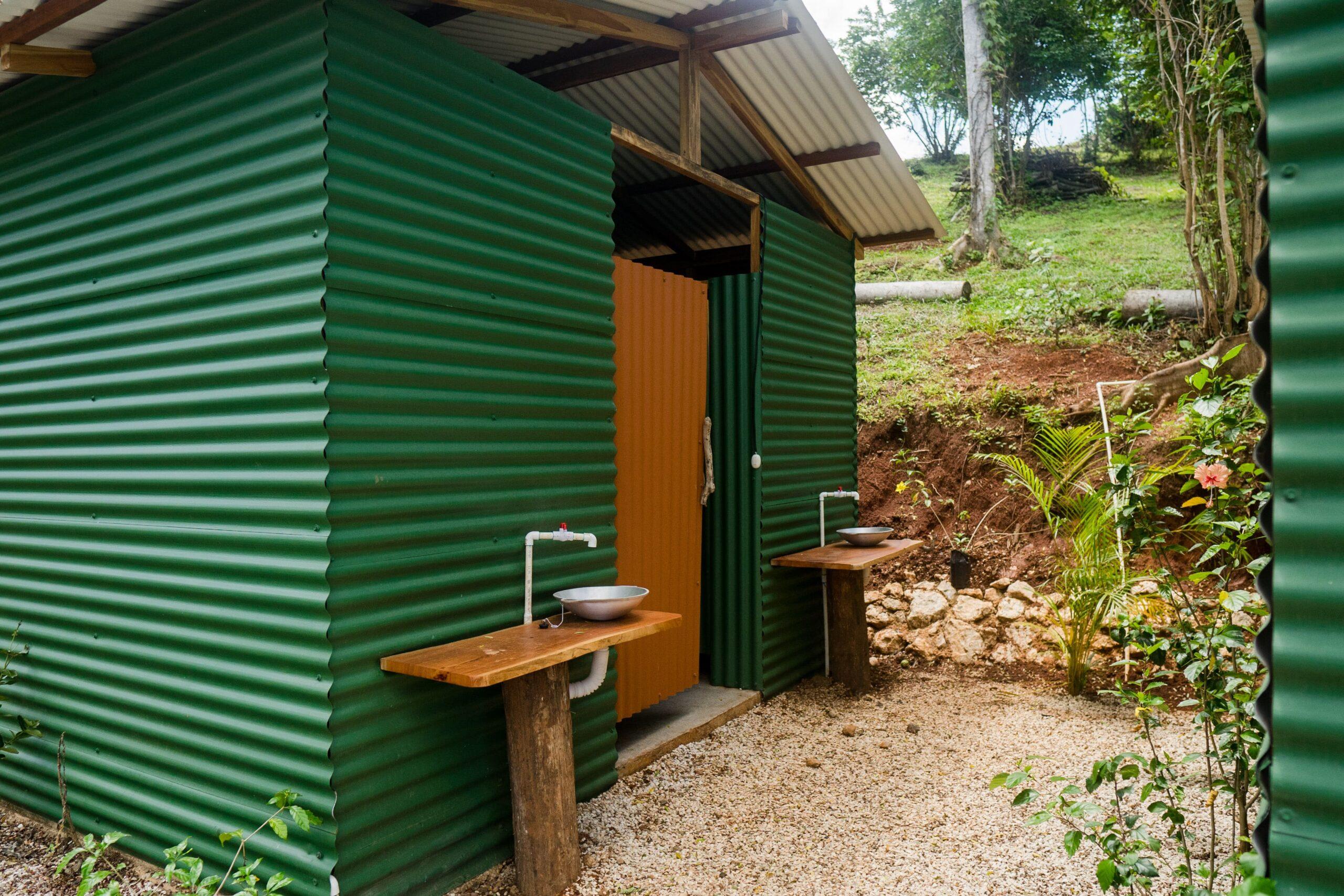 Eagle Nest communal bathrooms
